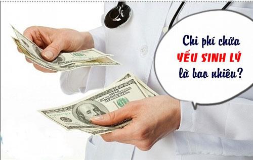 Bảng giá chữa bệnh yếu sinh lý tại Vinh hết bao nhiêu tiền?