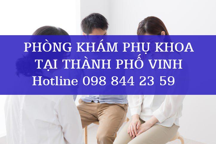Phòng khám phụ khoa tại thành phố Vinh