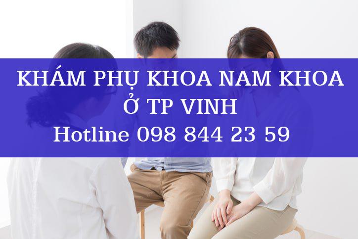 Khám phụ khoa nam khoa ở tp Vinh